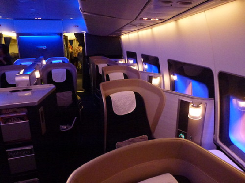 The International Business Class Experience