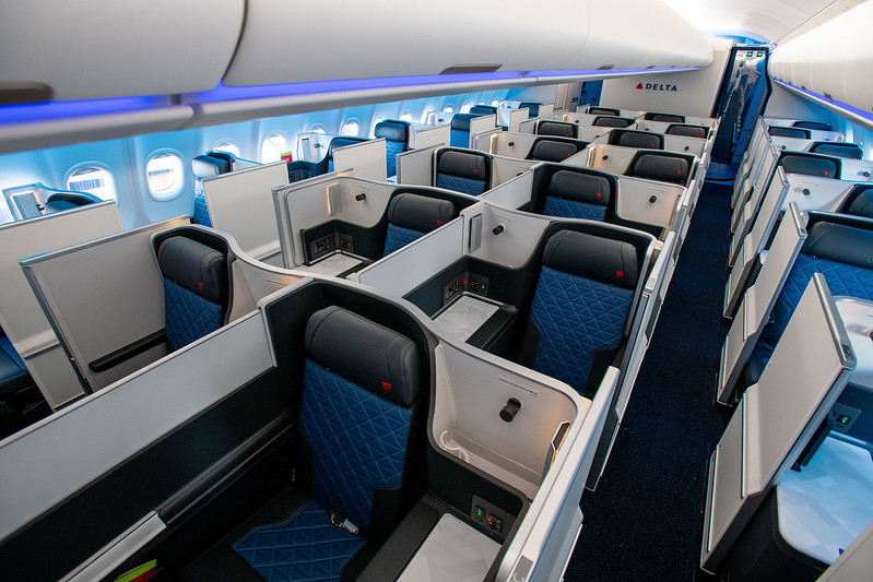 Delta First Class Seats & Features