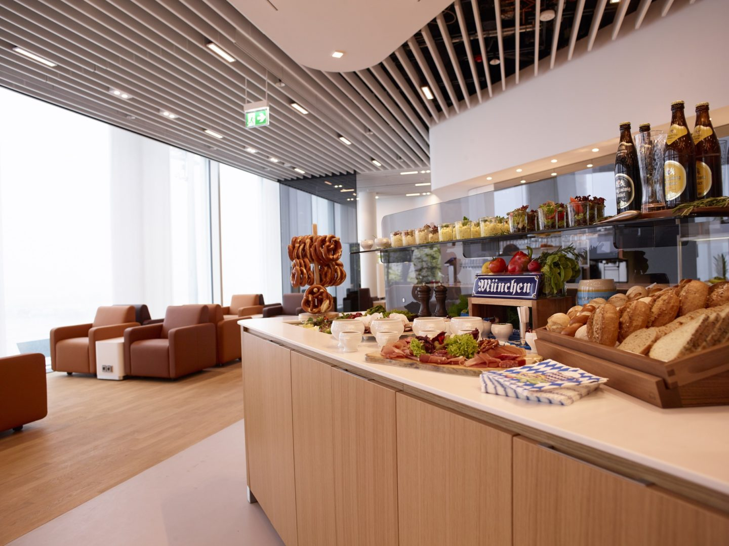 Lufthansa Business Class Lounges