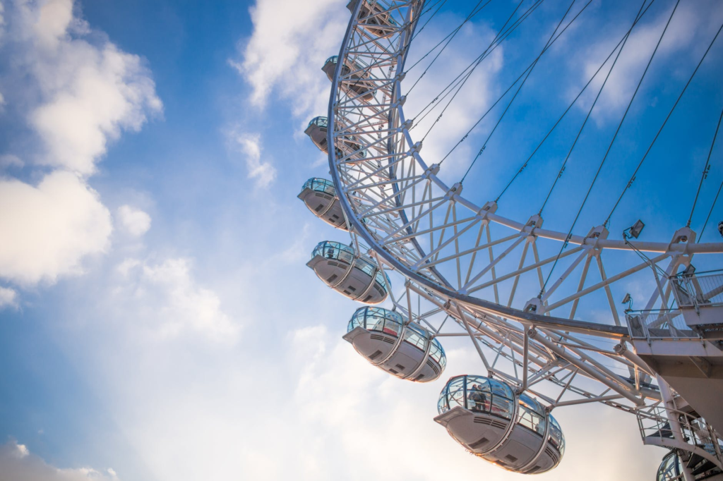 Ferris Wheels and Fun Things to Do in London