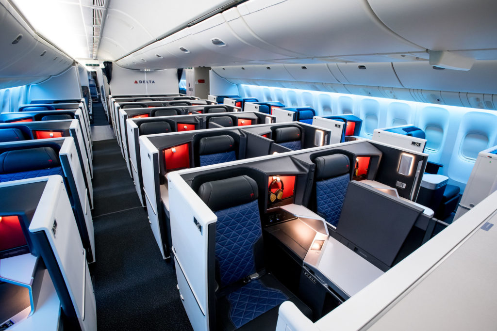 Delta One Cabin Seats